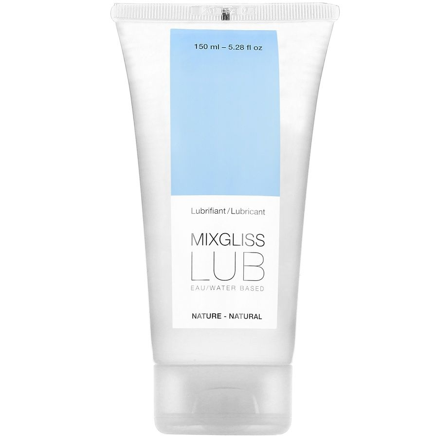 Lubricante Base Agua Natural 150 ml Mixgliss