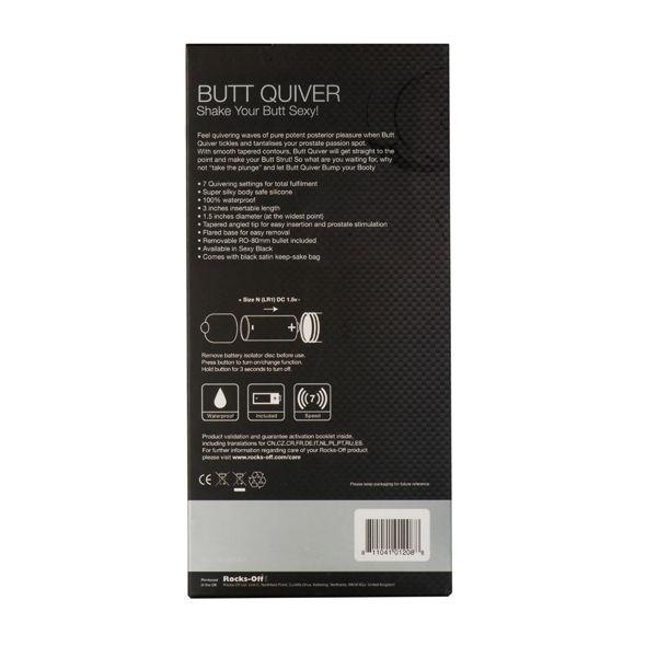 Estimulador Del Punto P Butt Quiver 3