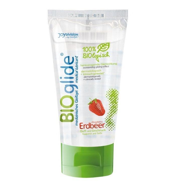 Bioglide Lubricante Sabor Fresa 80 ml 1