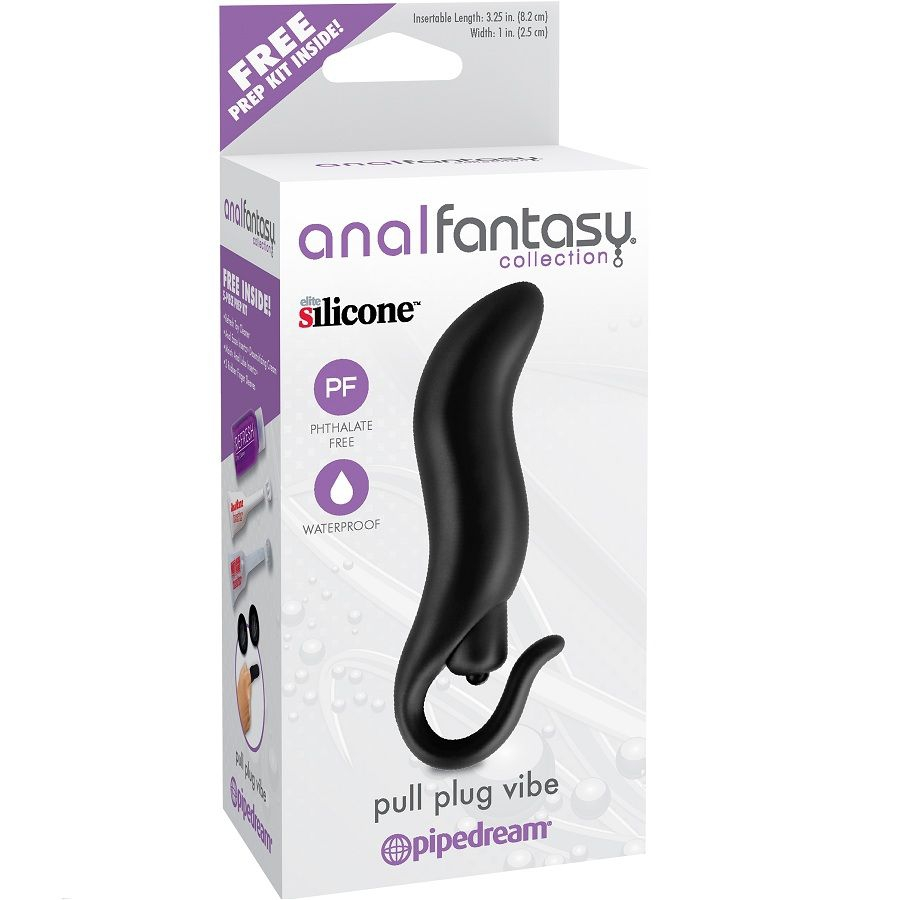 Anal Fantasy Plug Vibrador Pul 3