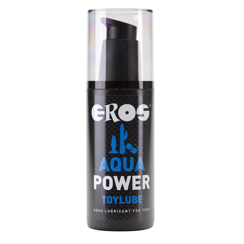 Lubricante Base Agua Aqua Power Especial Juguetes 125 ml Eros 1